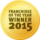 Award Franchisee of the year 2015
