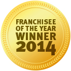 Award Franchisee of the year 2014