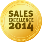 Award Sales Excellence 2014