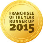 Award Franchisee Runner Up 2015