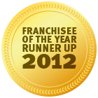 Award Franchisee Runner Up 2012