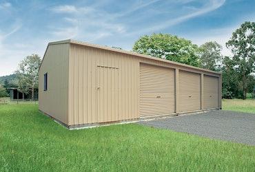 Garages | Residential Steel Sheds | Totalspan Australia