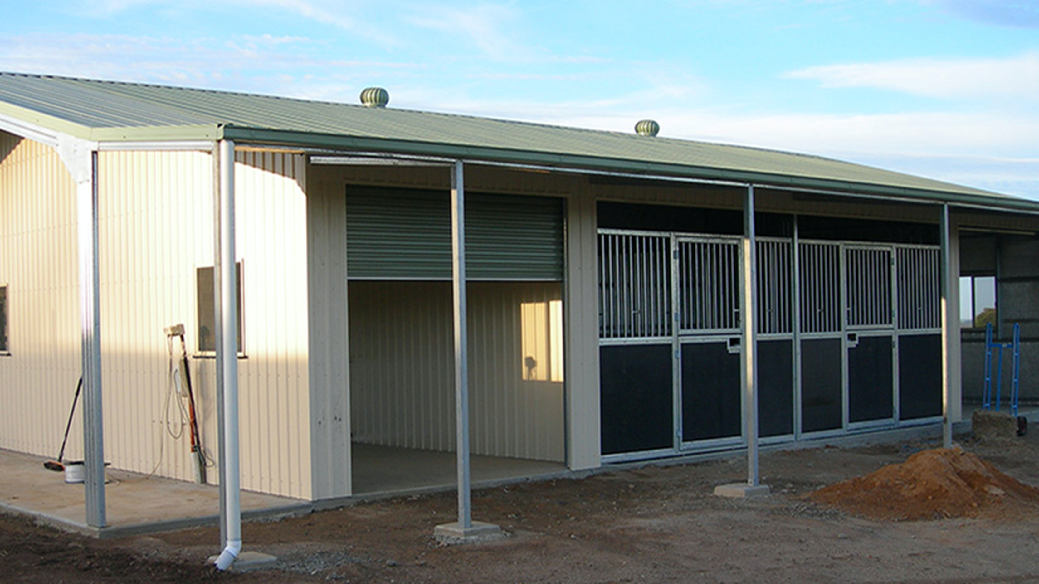Stalls Stables Rural Steel Buildings Totalspan Australia