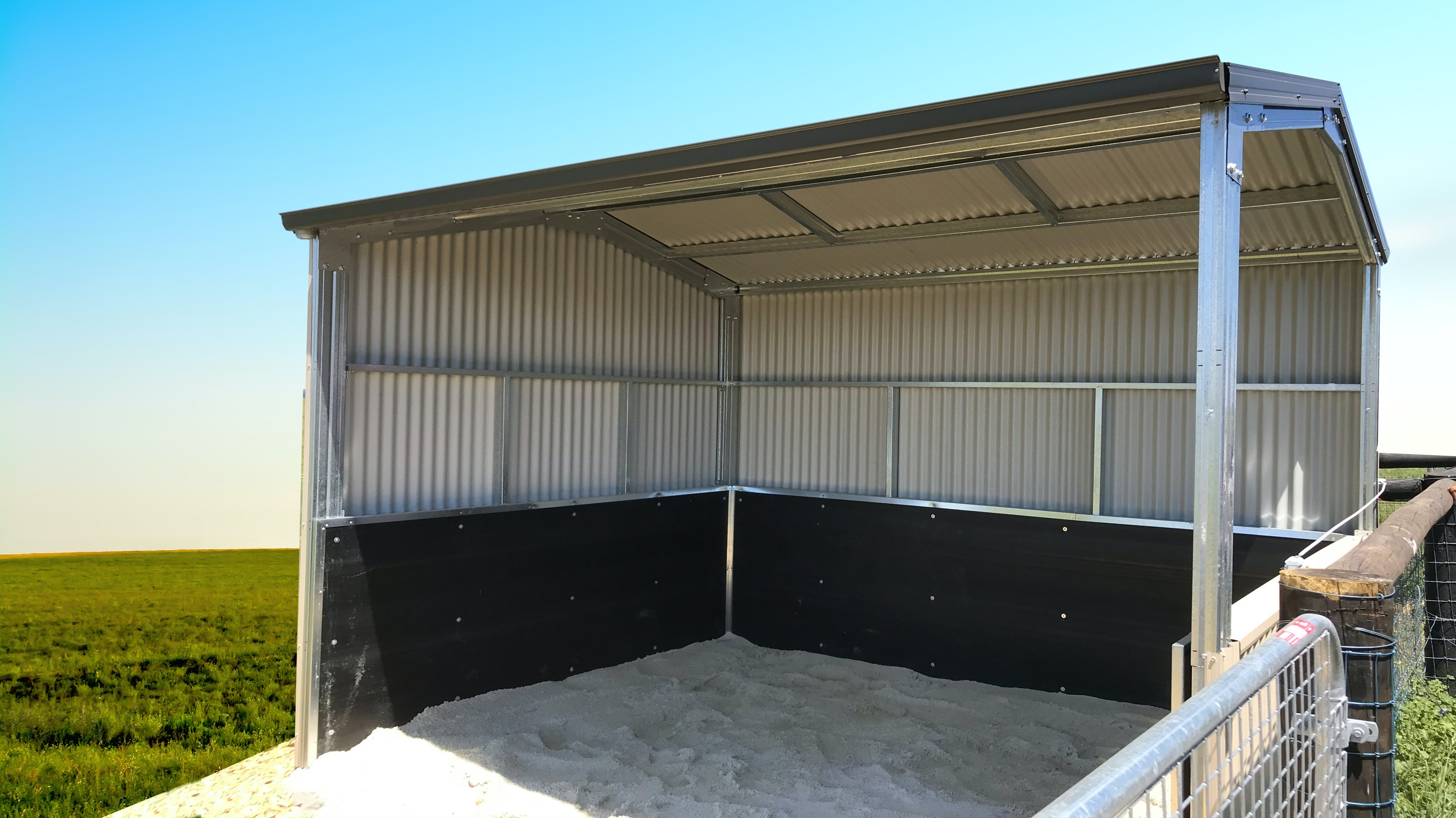 Paddock Shelters Rural Steel Buildings Totalspan Australia
